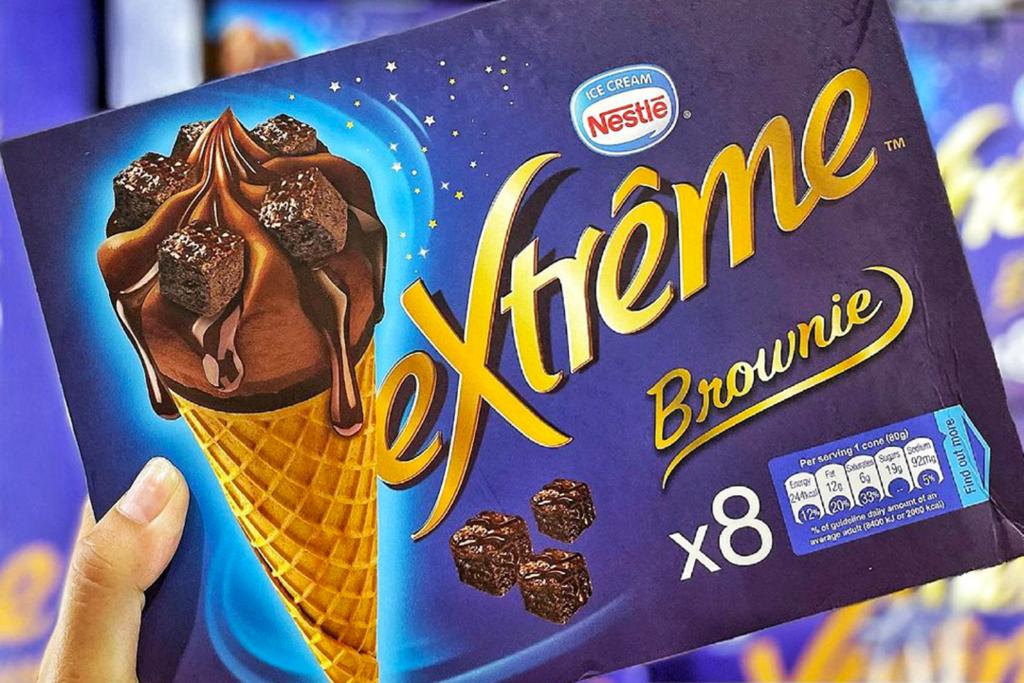 【台灣Costco必買2021】雀巢Brownies朱古力甜筒登陸台灣超市 Brownie布朗尼蛋糕粒+特濃黑朱古力雪糕