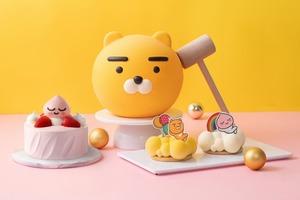 【聖安娜蛋糕】聖安娜聯乘KAKAO FRIENDS!推出首個官方授權Ryan敲敲蛋糕