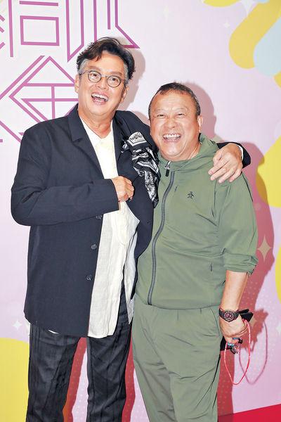 現身無綫支持老友 阿倫笑曾志偉係「TVB八公」