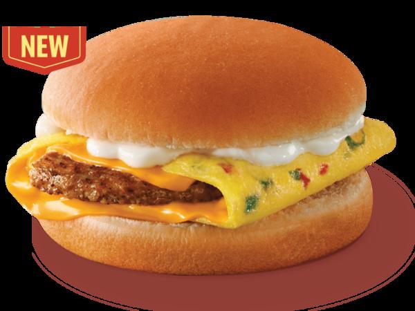 麥當勞漢堡扒芝士蛋奄列漢堡