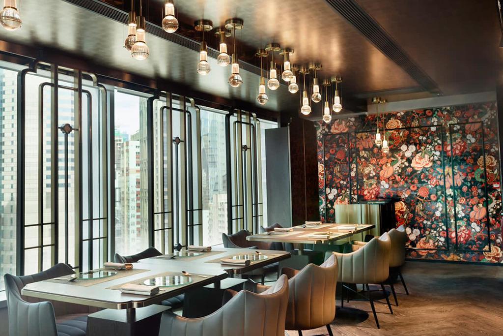 【銅鑼灣美食】銅鑼灣新開茶主題Fine Dining餐廳Glassbelly 冰滴茶配魚子醬/A4和牛/北海道海膽炸豆腐