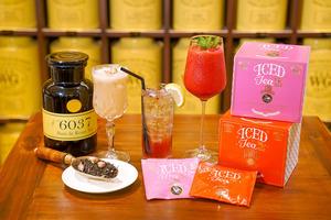 【雞尾酒食譜】Tea WG冰茶雞尾酒配方!在家簡單自家製3款雞尾酒食譜  Gin & Tonic/玫瑰冰茶Mocktail/水果雞尾酒