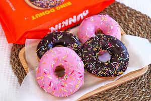 【新世界韓國食品】韓式超市有得買人氣冬甩Dunkin' Donuts!朱古力脆皮/士多啤梨果醬味