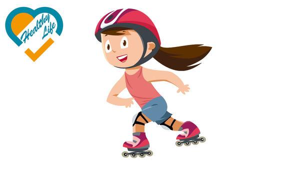 滾軸溜冰初哥 易傷手腕膝骨折