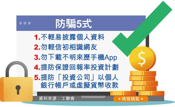 退休人士貪着數 買虛擬幣失300萬 逾50投資騙案求助涉1650萬