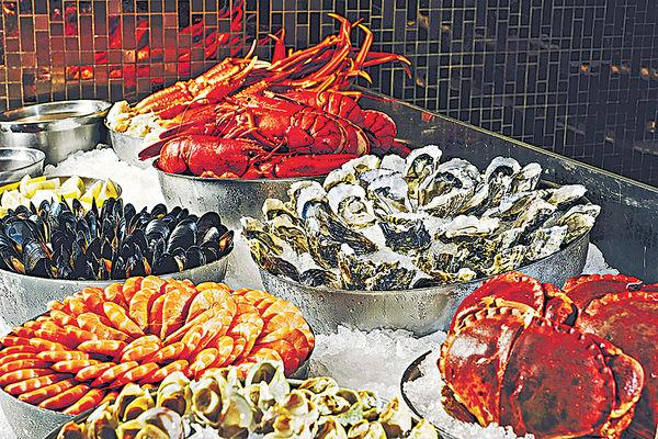 酒店生蠔龍蝦自助晚餐 網上預訂享75折
