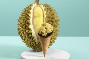 【榴槤雪糕香港2021】意式甜品店Venchi新出D24榴槤雪糕Gelato 香濃榴槤雪葩/絲絲榴槤肉!