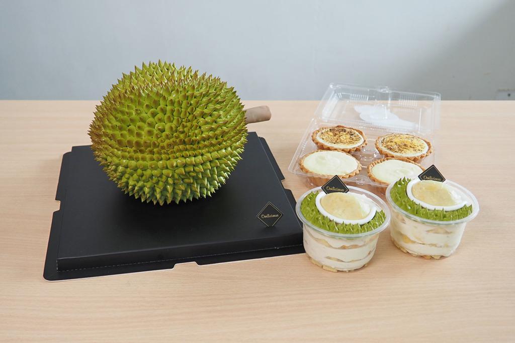 【榴槤蛋糕】人氣立體榴槤蛋糕推介2021  貓山王迷你蛋糕杯/D24榴槤果肉忌廉/榴槤撻