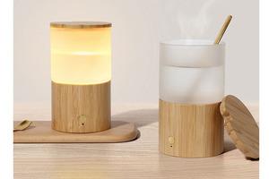 【廚具開倉】Amoovars推二合一創意設計夜燈水杯    文青風外型/貼心設計使用方便/早鳥優惠低至75折