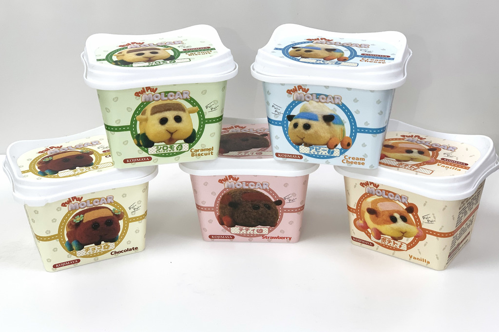 超市獨家發售日本官方授權天竺鼠車車雪糕!5款角色口味/天竺鼠車車包裝超可愛