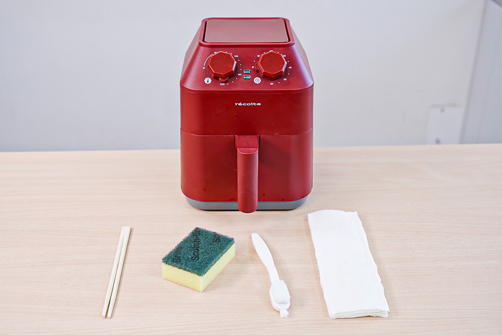 【洗氣炸鍋】氣炸鍋清潔方法 洗氣炸鍋蚊香發熱線好重要!內有自製小工具教學