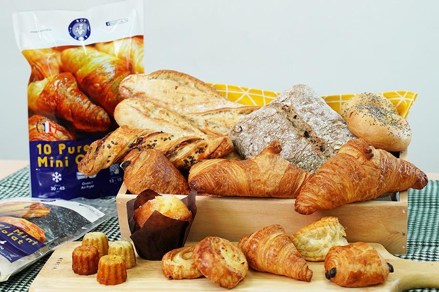 【冷凍麵包】5星酒店供應商!法國直送急凍麵包網店 推出$1香濃芝士酥/玉桂卷多款麵包優惠