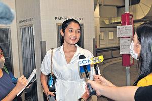 港姐首輪面試 關禮傑26歲女兒關楓馨強勢參選