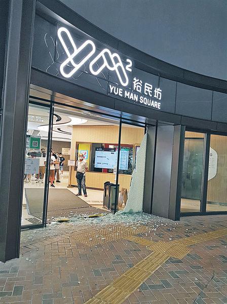 裕民坊商場爆玻璃門 工程師︰或因冷縮熱漲