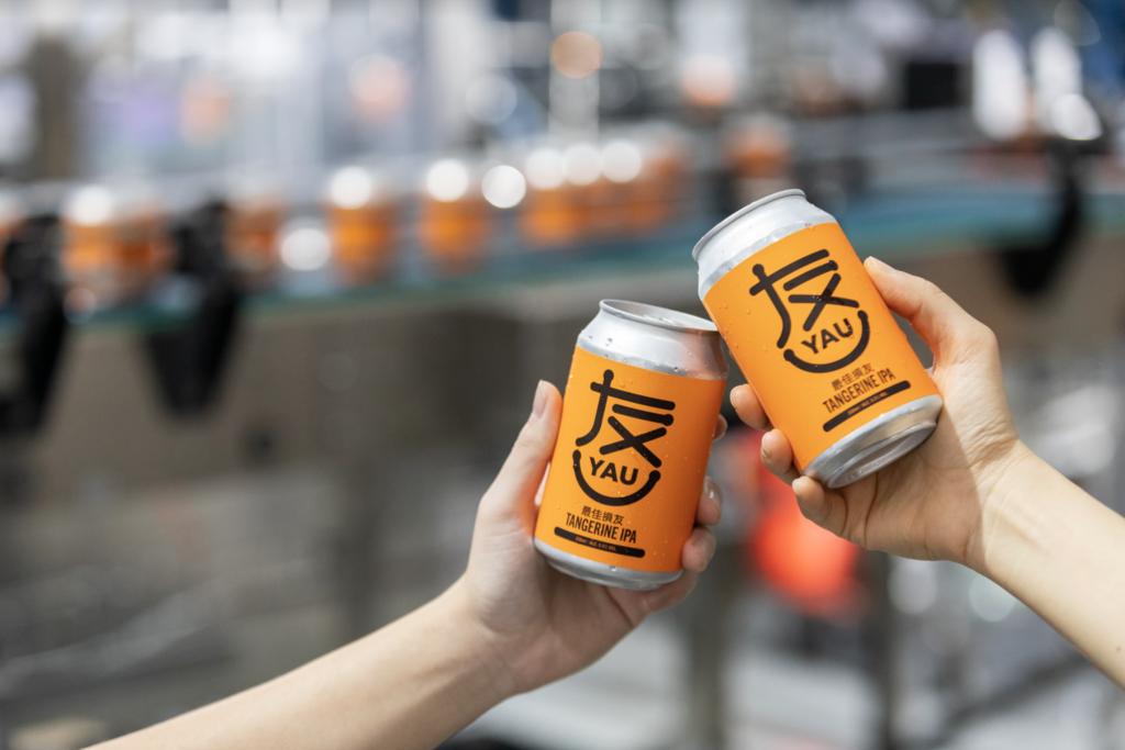 手工啤酒品牌「友」推出全新柑味Tangerine IPA!「友 x 7-Eleven」概念店登陸中環