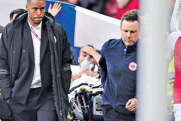丹麥隊醫證曾心臟驟停 艾歷臣清醒後開腔︰我不會放棄