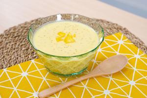 【芒果西米露】夏日芒果西米露做法!3步完成簡易港式糖水食譜