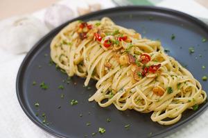 【香蒜意粉食譜】簡單惹味香蒜橄欖油意粉食譜  15分鐘2步一煲過懶人西式料理