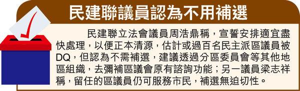 區議員擬下月逐一宣誓 傳170人被DQ 徐英偉:適時公布安排