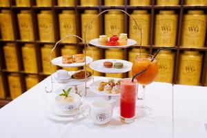 【打卡下午茶】Tea WG全新夏日特色下午茶  焙茶慕斯蛋糕/玫瑰香茶芝士蛋糕/蘋果茶雪葩/冰茶雞尾酒