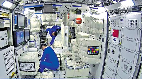 中國太空站啟常駐新頁 神舟十二號對接核心艙