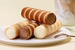 【韓國甜品2021】韓國BR新推出雪糕蛋卷 朱古力/雲呢拿雪糕餡配香脆蛋卷!