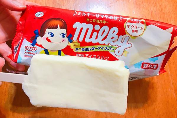 【日本便利店必買2021】日本不二家牛奶妹雪條甜品 流心煉奶/牛奶糖味雪糕冰