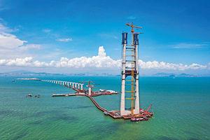 物流通關加速 助灣區外貿發展 港珠澳橋進出口額破2000億