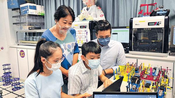 小學生挑戰預科STEM課程 為升學鋪路