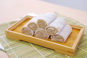 【懷舊小食】免用精油!4步簡易零失敗港式懷舊小食  香蕉糕食譜