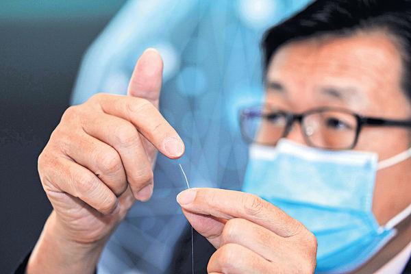 理大研超微細光纖傳感器 敏感度高助監測人體