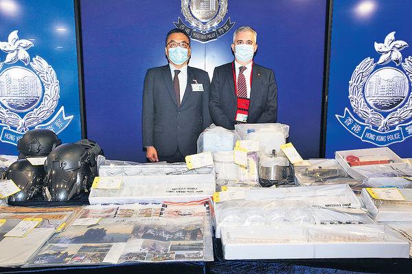 港獨組織圖炸鐵路法庭 9人被捕 涉6中學生1大學職員 尖沙咀設爆炸品工場