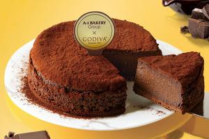 【A1蛋糕】A-1 Bakery聯乘GODIVA新品 焗朱古力芝士蛋糕