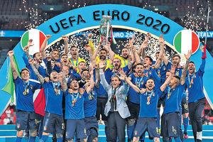 英格蘭負意大利失歐國杯 12碼人選捱批 修夫基認責