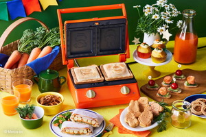 【BRUNO廚具】BRUNO聯乘Miffy推出全新廚具 可愛Miffy造型多功能電熱鍋/三文治機/電熱水壺