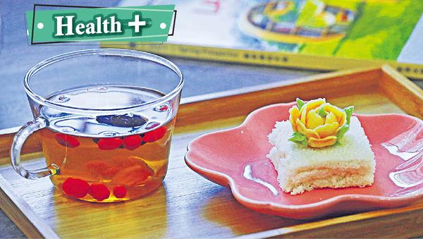 黃芪黨參枸杞子茶+二參米糕 2款茶飲甜點助提神