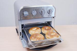 【氣炸焗爐推介】Cuisinart輕巧健康烤焗爐好用嗎?實測焗麵包蛋糕/外脆內軟效果有驚喜/特設多士模式