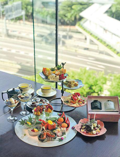 和風夏日水果下午茶 送花香香薰擴香組