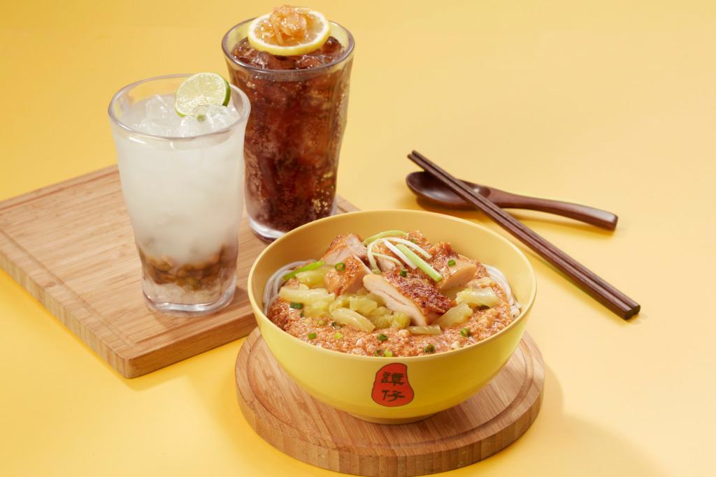 譚仔雲南米線全新推出麻辣汁烤雞炸醬撈米線!凍海鹽柚子樂/青檸綠豆薏米冰同步登場