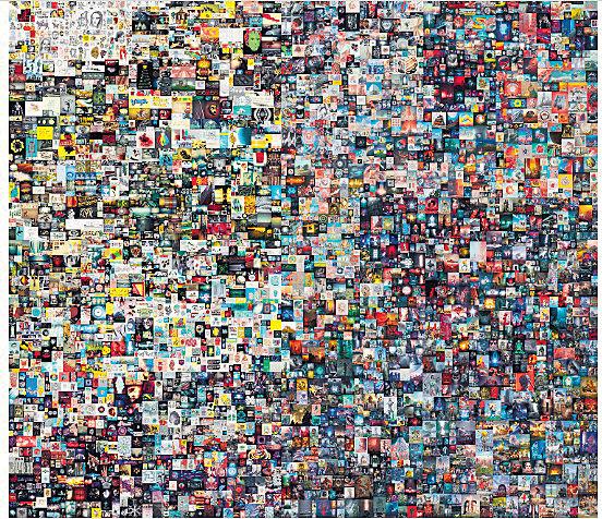 6900萬美元的網上藝術品