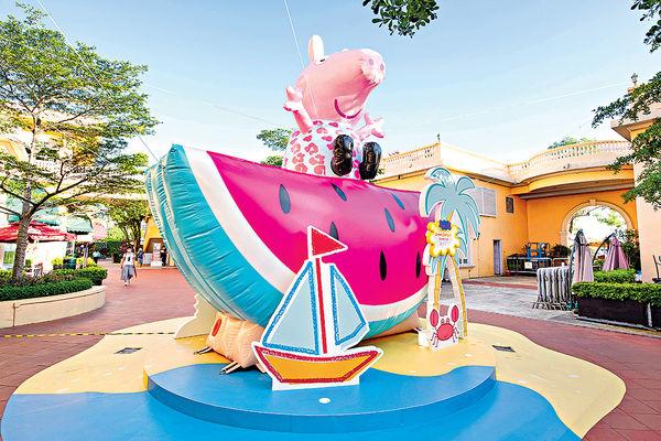 香港黃金海岸 Peppa Pig夏日遊