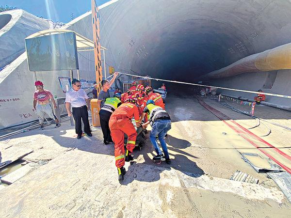 珠海石景山隧道滲水 14工人被困全遇難