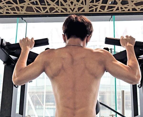 做Gym練意志ANSONBEAN操肌變「和尚」