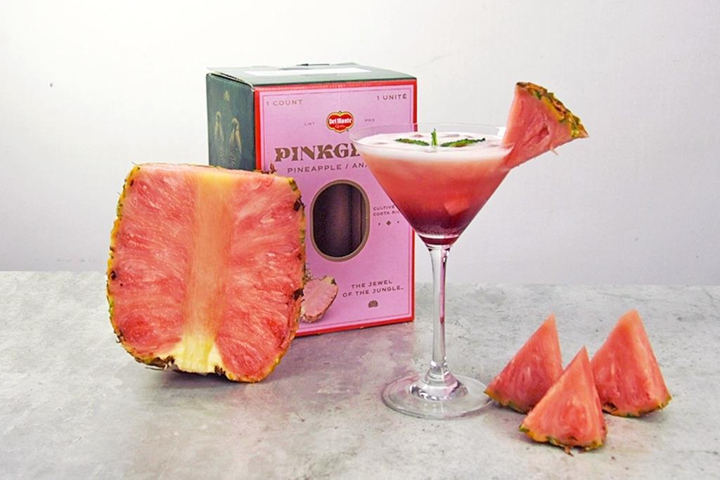 【粉紅菠蘿】粉紅菠蘿青檸Mocktail食譜  3步夢幻打卡夏日特飲