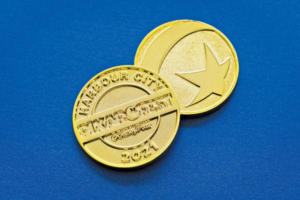 海港城Pixar Fest紀念金幣 完成壓印任務可換領