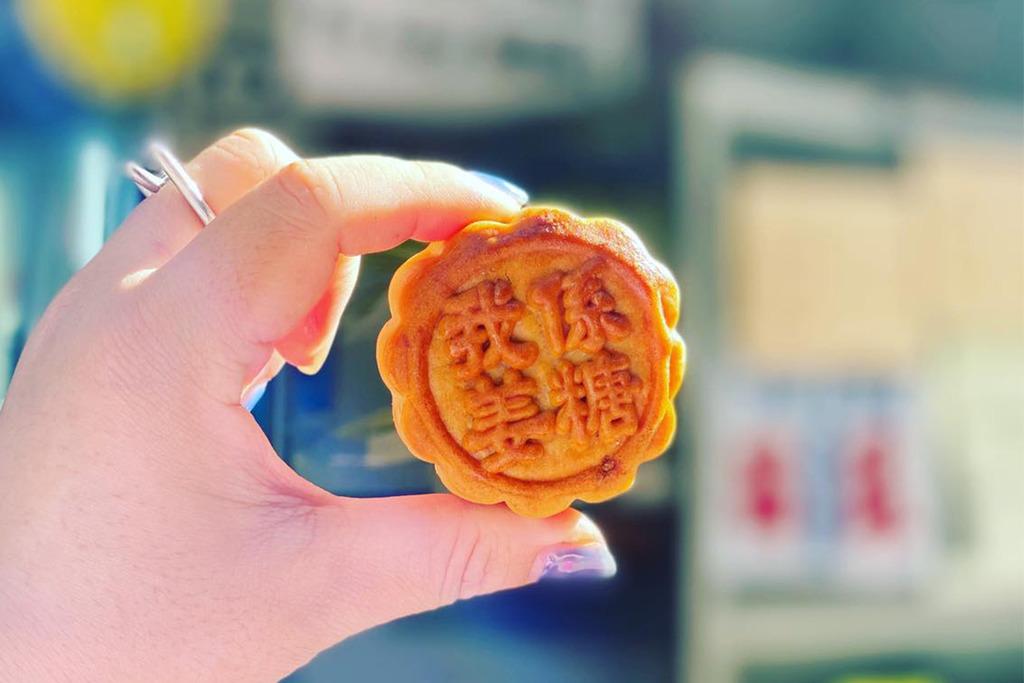 【Mirror月餅】西環華爾登餅店推出Mirror月餅 大叔的愛「大支嘢」/「我愛姜濤」月餅