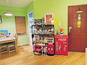 買樓8年終回家 珍藏玩具全屋Show 獨有復古風 如懷舊士多
