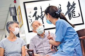 接種後僅針口痛 95歲長者籲全民打針 新一輪院舍外展 將以科興為主