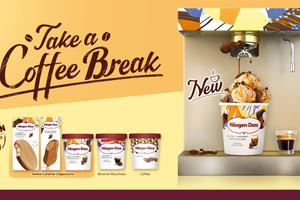 Häagen-Dazs推出3款咖啡雪糕口味 岩鹽焦糖泡沫咖啡雪糕/朱古力蛋糕咖啡雪糕/咖啡雪糕/會員抽獎有機會獲音樂會門票
