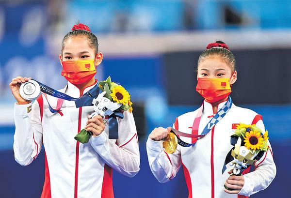 女子平衡木包辦冠亞 中國隊添3金續排榜首